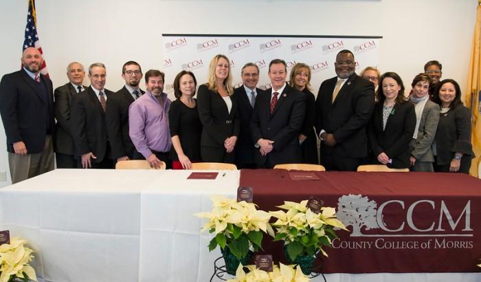 Randolph Dual Enrollment Signing
